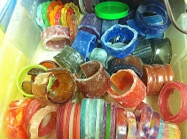 Lots of Bangles To Sand
